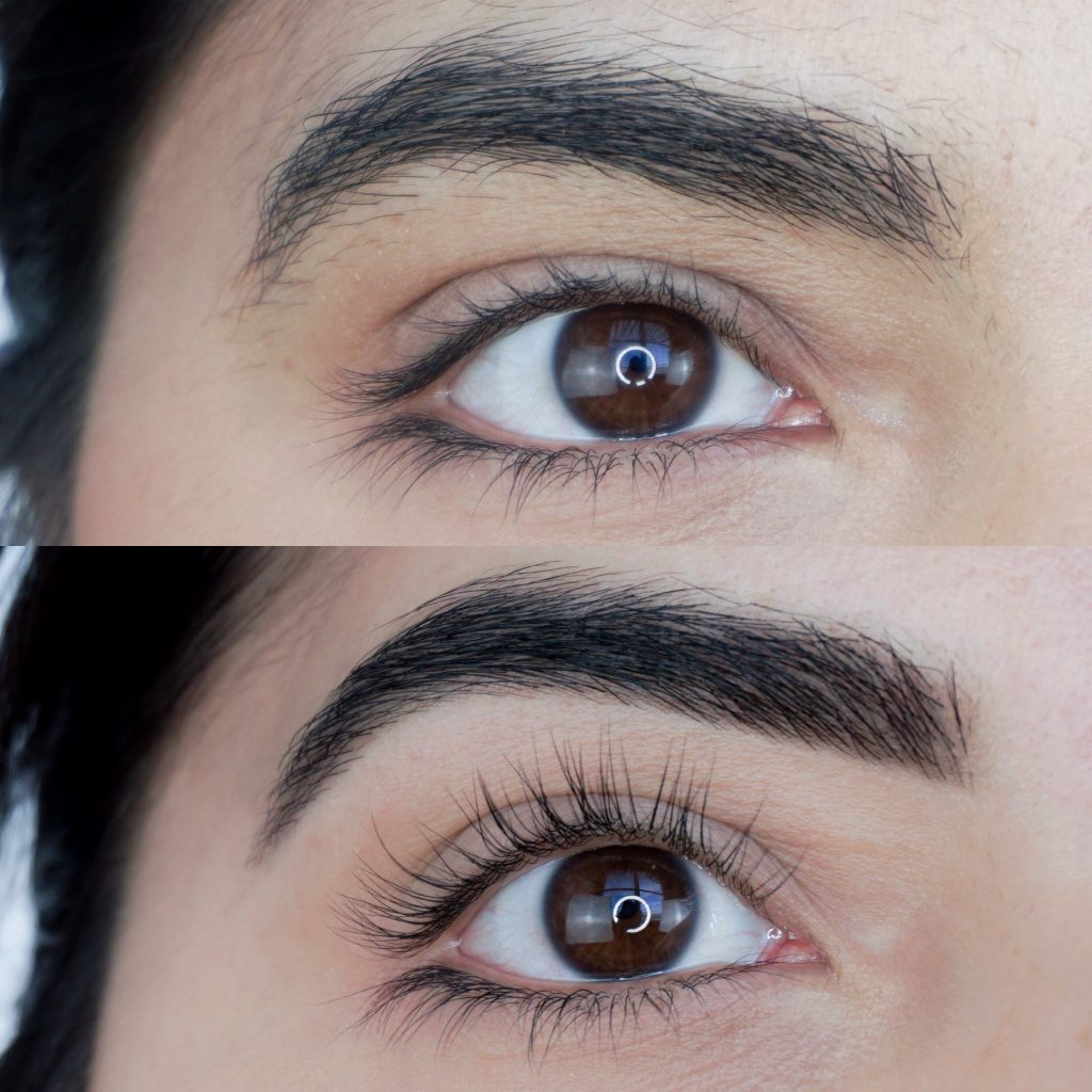 Lash Lift, Brow Wax + Brow Tint